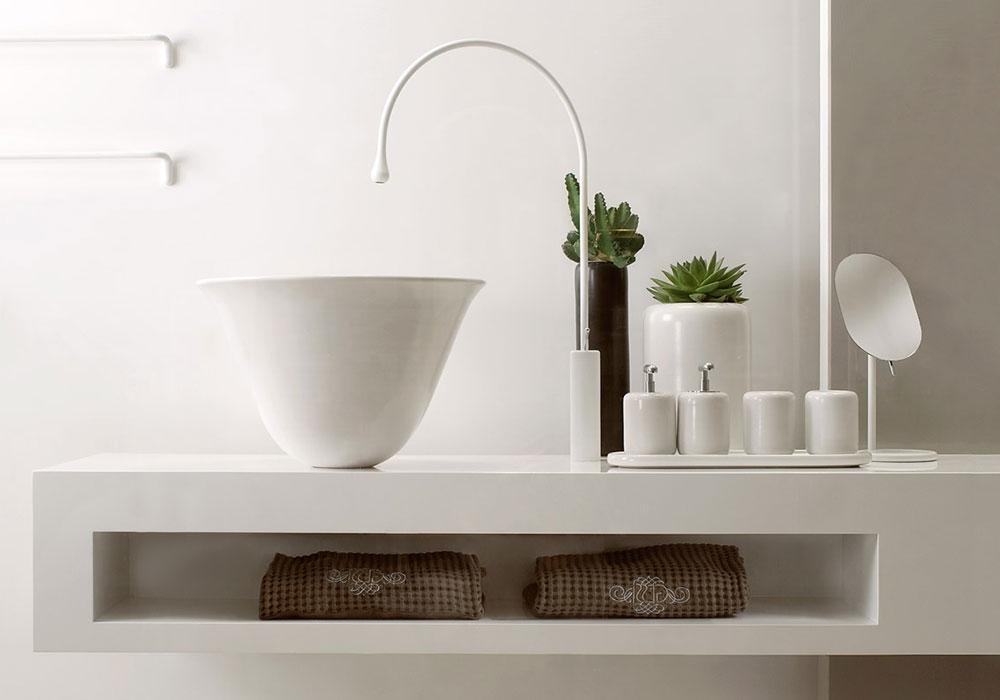 vasque Gessi et robinetterie chez Kei-Stone à Aix en Provence