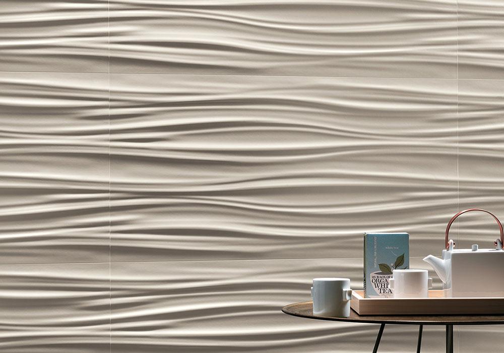 Carrelage 3D motif vaque Aix en Provence Kei-Stone