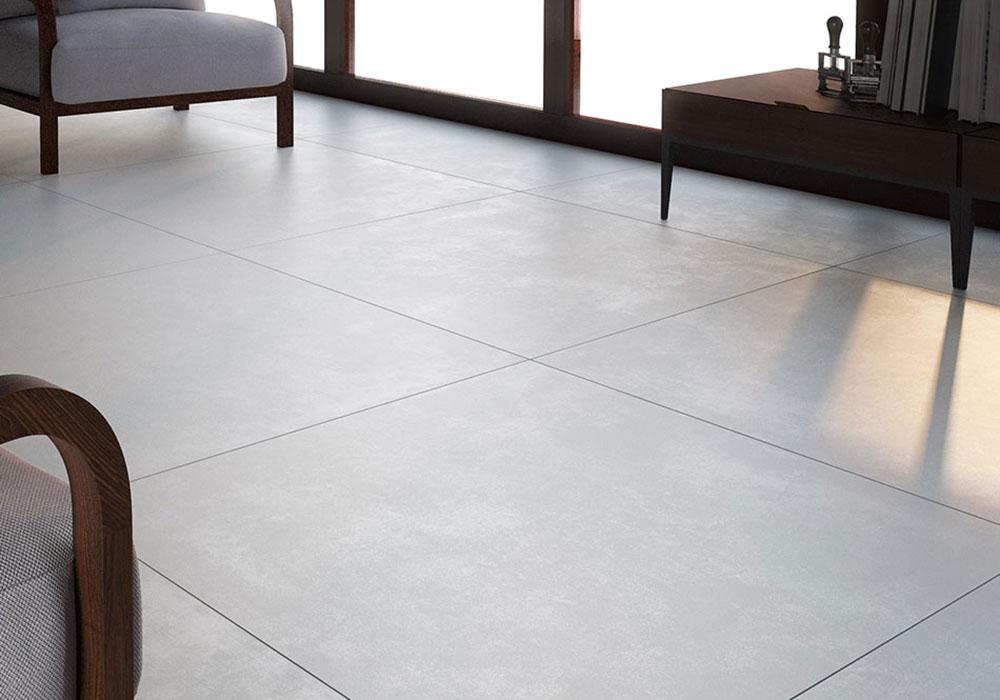 carrelage imitation béton ciré gris contemporain antidérapant anti slip - Kei-stone Aix en Provence