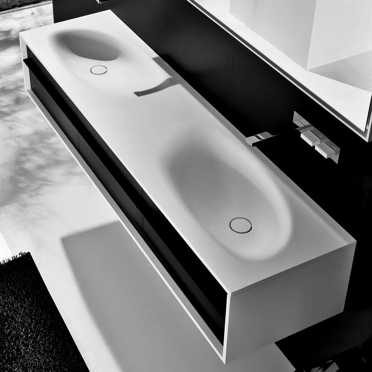 vasque salle de bains et meubles Falper chez Kei-Stone Carrelages & Bains Aix en Provence