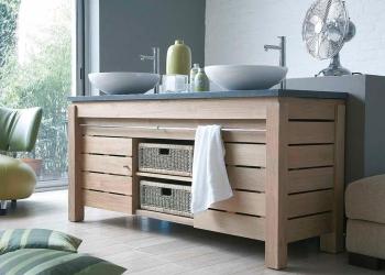 meubles de salle de bains Lineart Origin Tech chez Kei-Stone Carrelages & Bains Aix en Provence