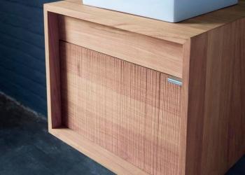 meuble de salle de bains collection chêne Lineart chez Kei-Stone Carrelages & Bains Aix en Provence