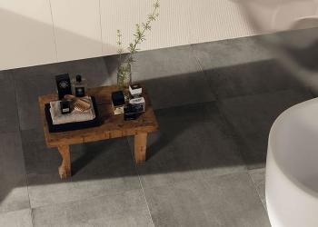 carrelage Kronos ceramiche primamateria imitation béton ciré dalle ciment antidérapant anti slip - Kei-stone Aix en Provence