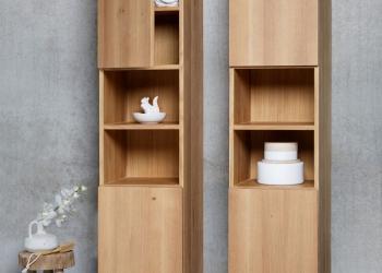 meuble de salle de bains Shadow Ethnicraft chez Kei-Stone Carrelages & Bains Aix en Provence