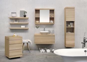 mobilier salle de bains Ethnicraft Kei stone aix en provence provence alpes cote d'azur nice marseille toulon digne nîmes arles montpellier