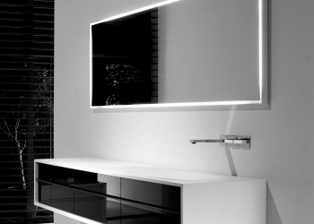 meuble de salle de bains Shape Falper chez Kei-Stone Carrelages & Bains Aix en Provence